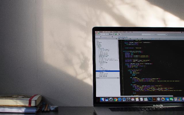 Web developer CV template