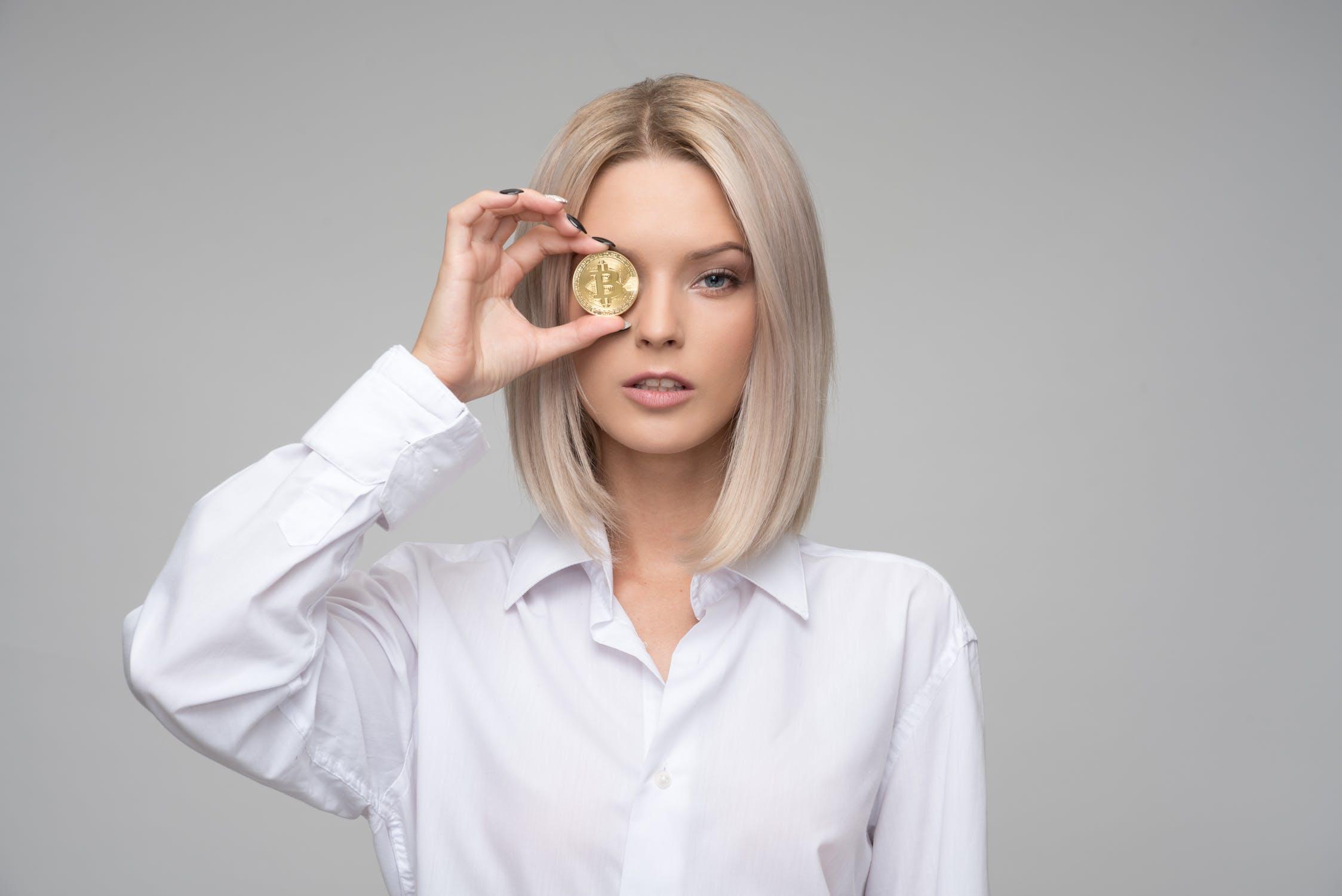 Women in the blockchain driver's seat