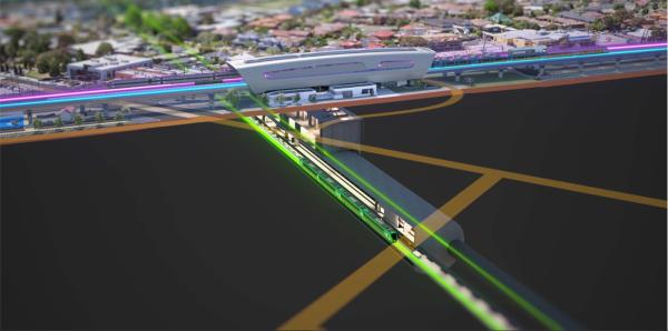 Suburban Rail Loop Authority